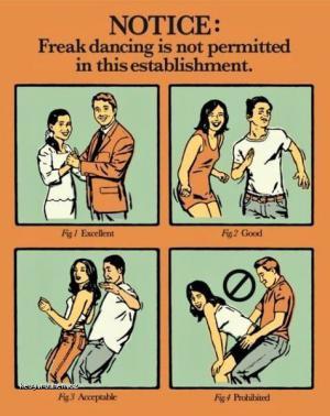 Freak dancing