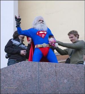 superman mel svatek