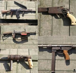 Handmade Weapons