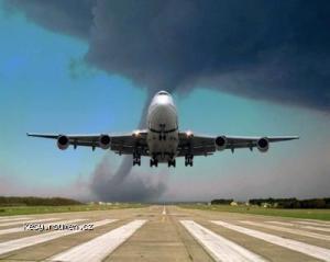 plane vs tornado