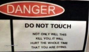 Warning Signs Shouldnt Be Funny