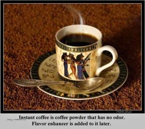 X Interesting Fact  Instant Coffee