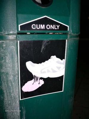 Cum only