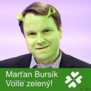 zeleny bursik