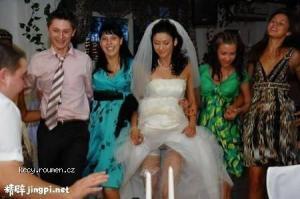 wedding pfoto fail