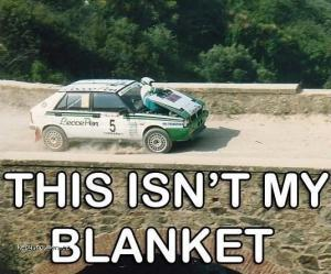not my blanket