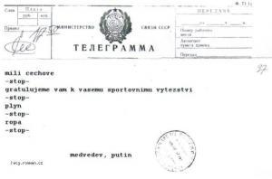 original telegramu