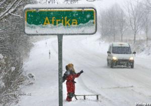 ledova Afrika