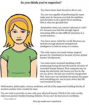 women are subhuman