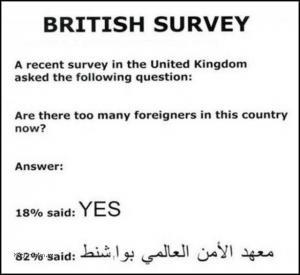 cizinci v britanii