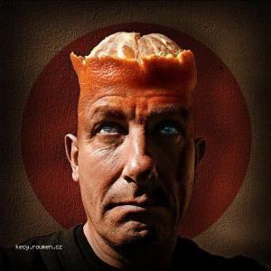 hlava a pomeranc