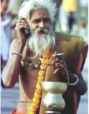 saint with mobile india