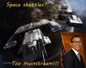 obama spaceshuttle