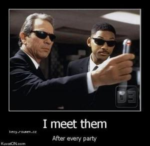 i meet them after every party
