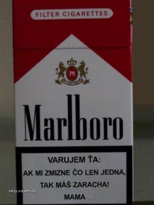 Marlboro  varovani
