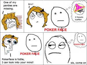 pokerface is futile