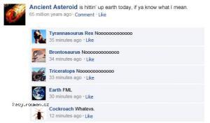 asteroid facebook