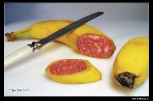 vegetarianska klobaska