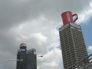 Reklamy  Nescafe a Pepsi