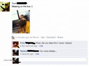 Idiotic Conversation on Facebook 5
