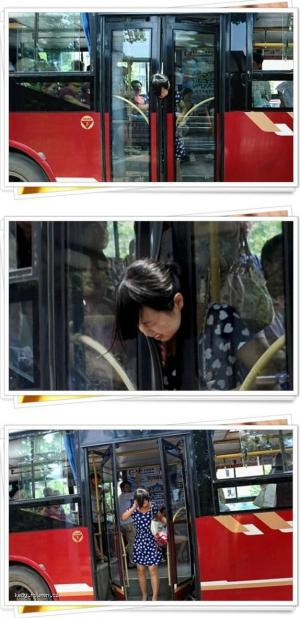 Be Careful When You Get Off the Bus