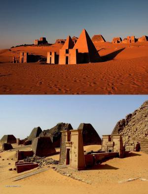 black pharaohs pyramids 2