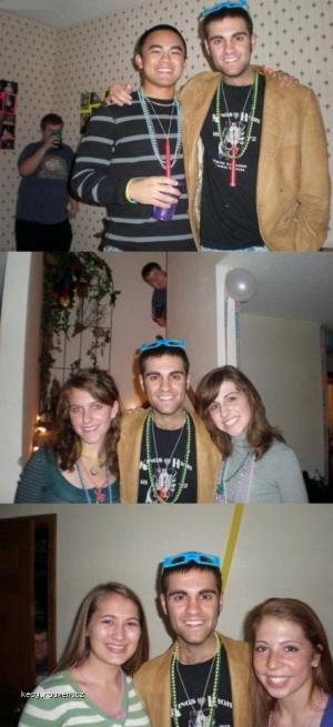 persistent photobombing