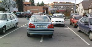 Parkovani Billa Caslav 24