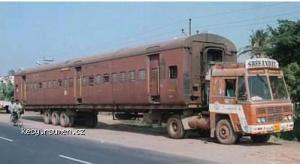 truck or train india