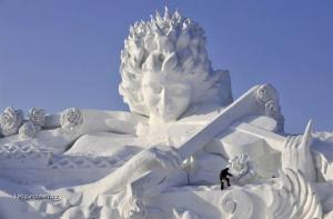 ledova socha