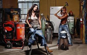 jeansy z kovarny
