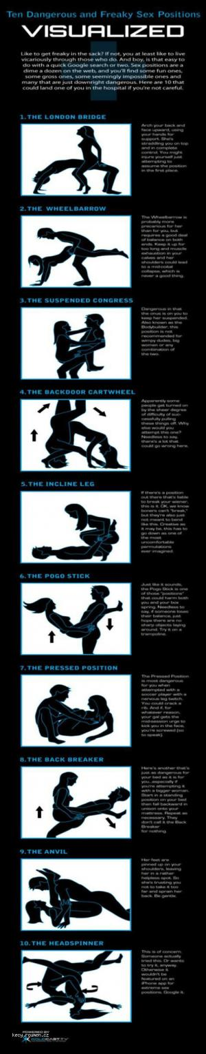 Freaky sex positions