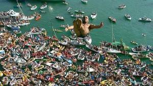 skok medzi lodicky