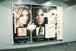 photoshop tools in subway billboard