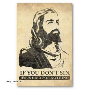 jesus sin