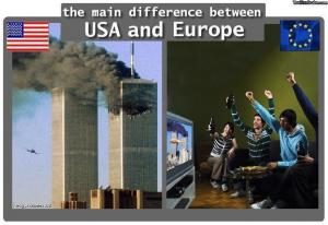 main diference between USA and EU