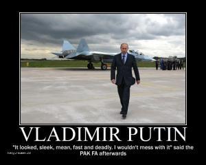 Putin vs jet