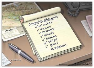 bush checkliste