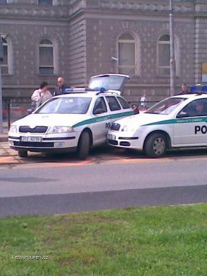 policie v Olomouci
