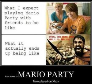 X Mario Party