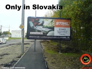 only in slovakia