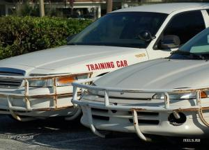 training car