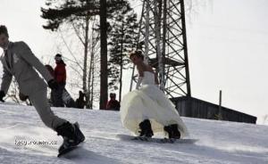 Svatba na svahu