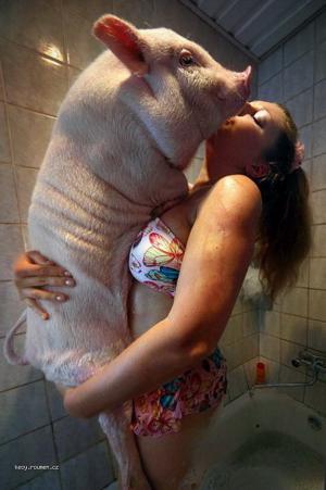 praseci chripka v koupelce