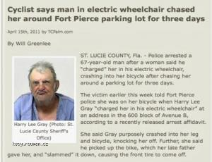 Man in Electric Wheelchair Terrorized Her For How Long