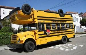 Strange school bus