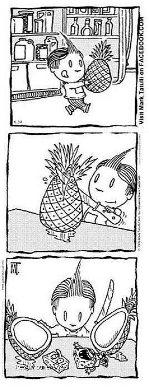 The wrong pinapple