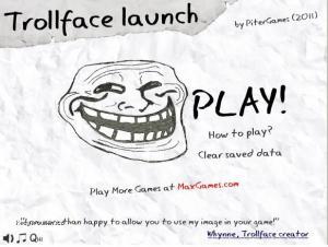 trollface game