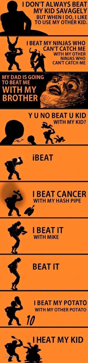 I Beat My Comp