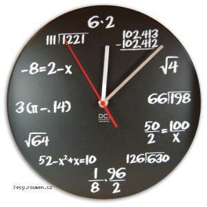 hodiny pro matematika